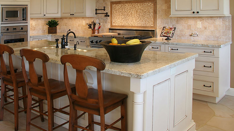 White Granite. Granite Countertops Idea
